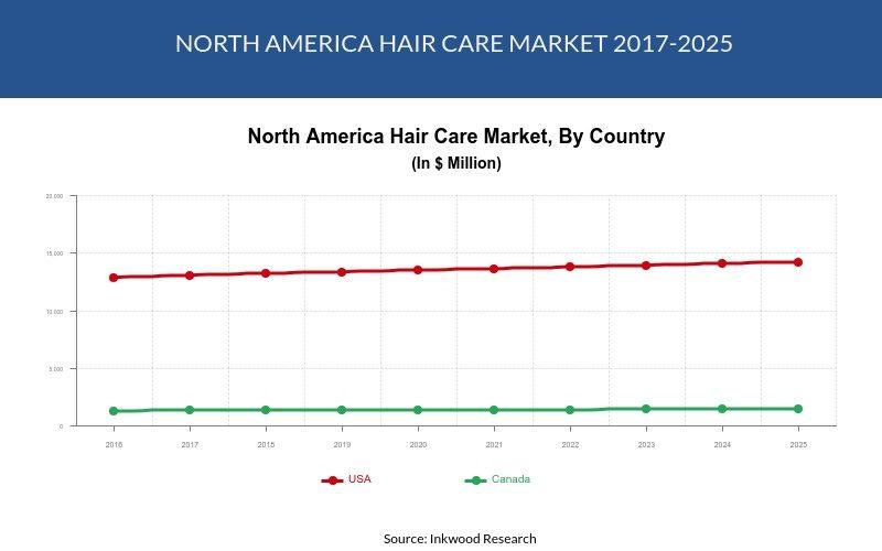 North America Hair Care Market