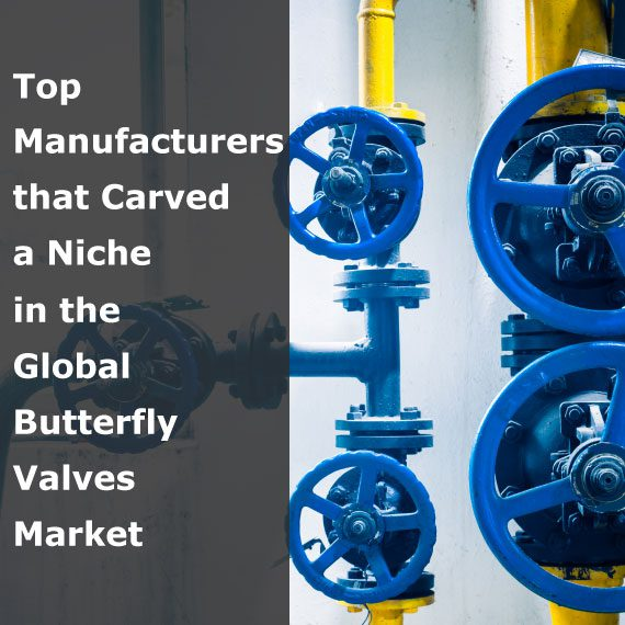 Top Manufacturers that Carved a Niche in the Global Butterfly Valves Market
