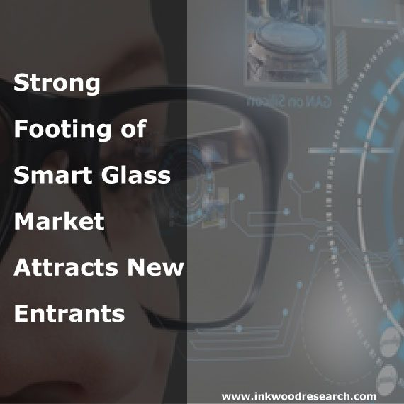 Strong Footing of Smart Glass Market Attracts New Entrants