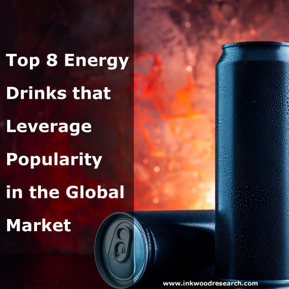 Top 8 Energy Drinks that Leverage Popularity in the Global Market