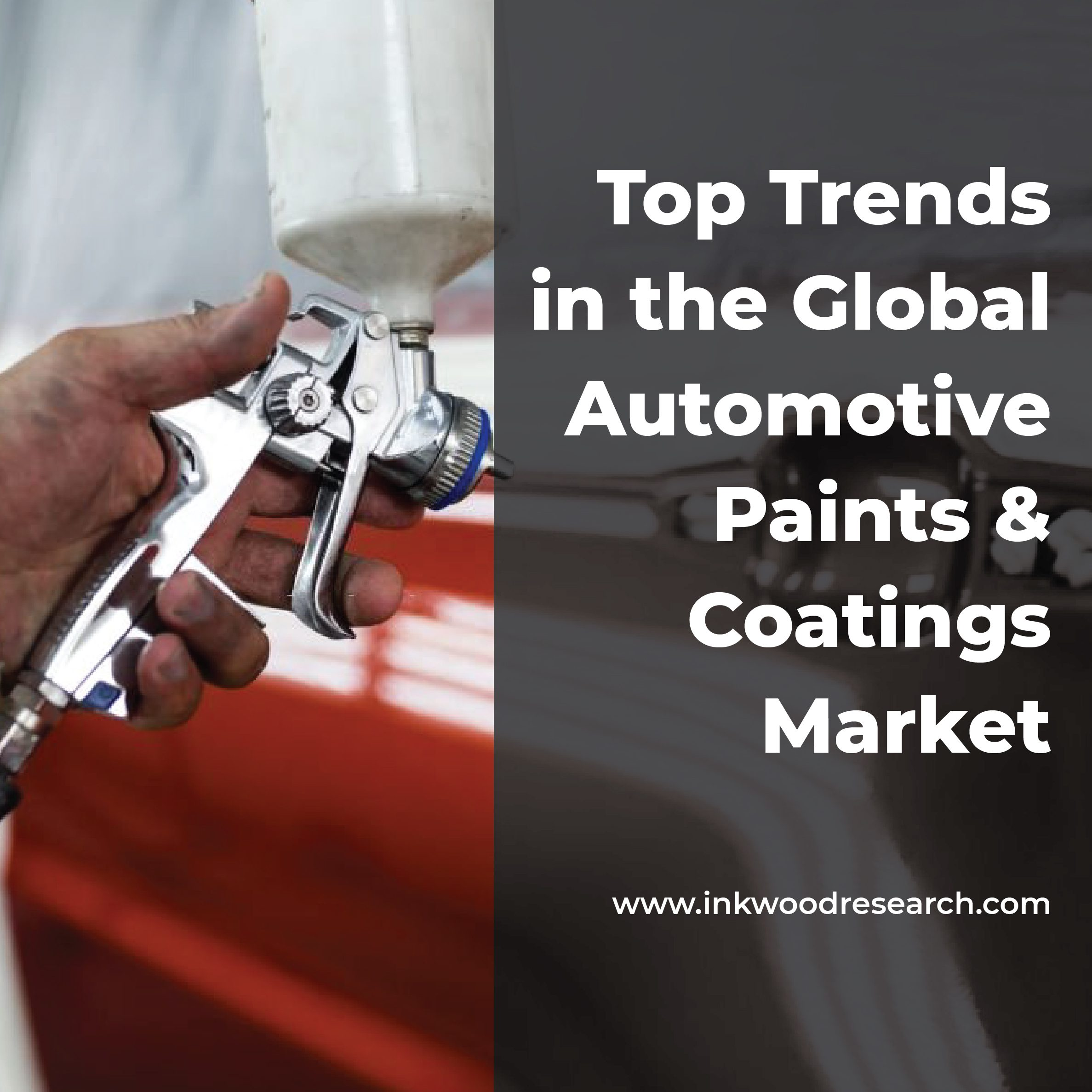 Top Trends in the Global Automotive Paints & Coatings Market